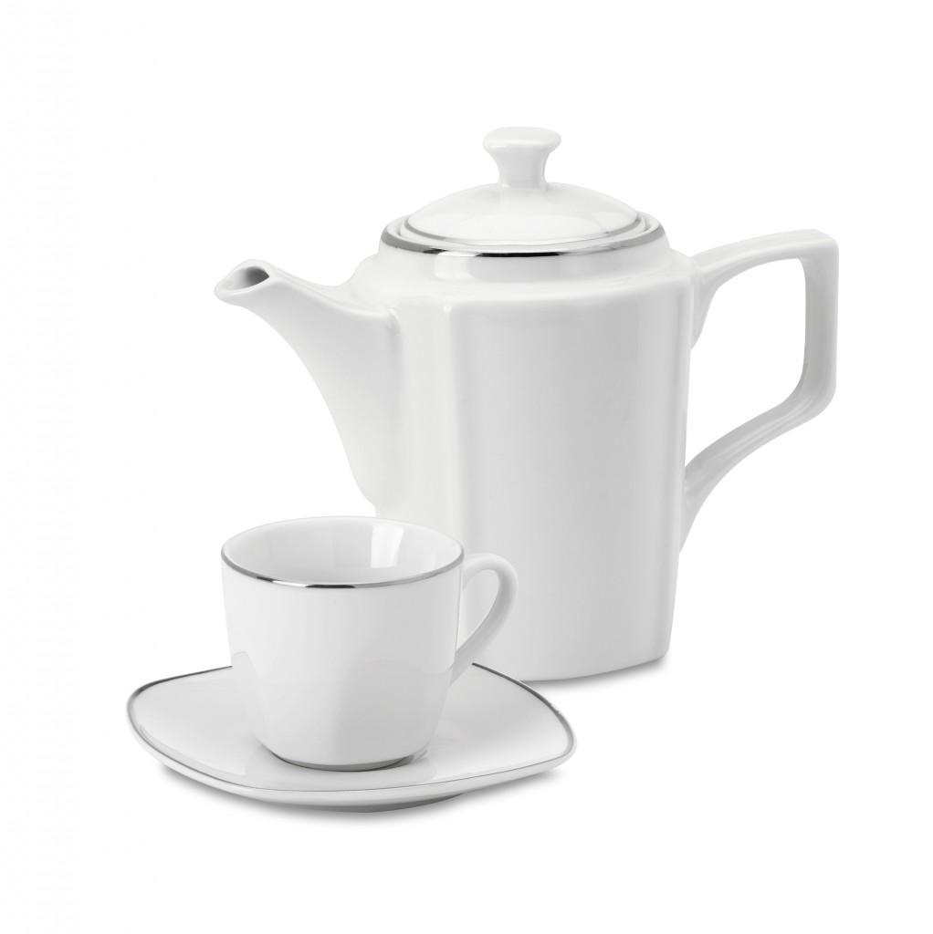Servizio caff 15 pezzi porcellana quadrum mondial casa - Pentole mondial casa opinioni ...