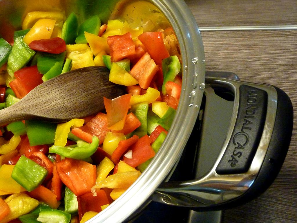 penne tonno e peperoni ricetta