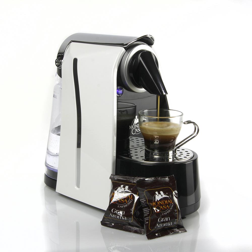 Macchina Caffè Espresso Mondial Casa + 200 capsule